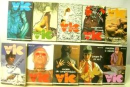 VIC ST VAL LOT DE 10 VOLUMES 60 à 84 - Fleuve Noir