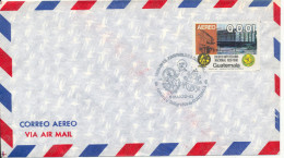 Guatemala Air Mail Cover With Special Postmark 6-3-1983 - Guatemala