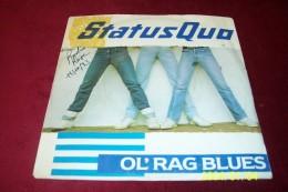 STATUS  QUO  ° OL'RAG BLUES Et  Rollin' Homme  ( Lot De 2 Vinyle 45 Tours  ) - Altri - Inglese