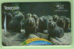 NZ - 1995 Marine Mammals - $5 Fur Seal Pups - NZ-P-53 - Mint - New Zealand