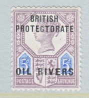 OIL  RIVERS  5  * - Nigeria (...-1960)