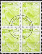 Vietnam 1984 - Siamese Fighting Fish ( Mi 1531 - YT 555 ) Block Of 4 - Vietnam
