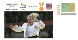 Spain 2016 - Olympic Games Rio 2016 - Gold Medal Judo Female USA Cover - Juegos Olímpicos