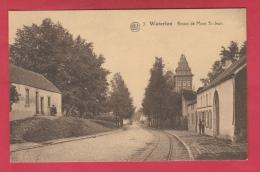Waterloo - Route De Mont St-Jean ... Rails Du Tram  ( Voir Verso ) - Braine-l'Alleud