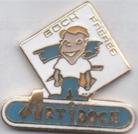 Pin's  Boch Fréres , Artiboch , Carrelage   P1+ - Badges