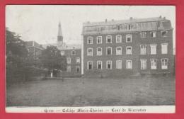 Herve - Collège Marie-Thèrèse - Cour De Récréation - 1911 ( Voir Verso ) - Herve