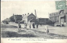 SOMME - 80 - FORT MAHON - Avenue De La Plage Et Hôtel De Paris - Fort Mahon