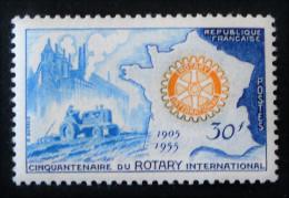 CINQUANTENAIRE DU ROTARY 1955 - NEUF * - YT 1009 - MI 1035 - Unused Stamps