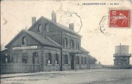 SOMME - 80 - FRESSENNEVILLE - La Gare - France