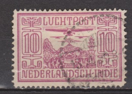 Nederlands Indie Netherlands Indies Luchtpost 6 Used; Vliegtuig, Flugzeuge, Avion, Avion, Aeroplanes, Airoplane 1938 - Nederlands-Indië
