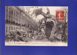 Nantes Char  Des Cyclopes 1er Prix 1913  (Très Très Bon état ) Ww165) - Manifestations
