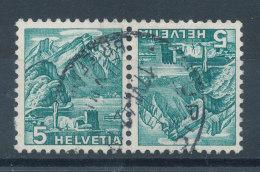 Suisse Tête-Bêche N°290b (o) - Tête-Bêche