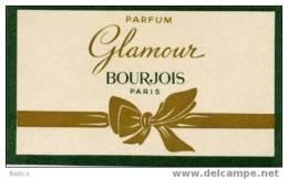 Carte Parfumée     Glamour De Bourgeois Paris - Cartes Parfumées