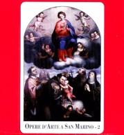 Nuova - San Marino - Scheda Telefonica - 101 - Opere D´Arte A San Marino -  G.B.Urbinetti - Saint-Marin