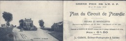 SOMME - 80 - LONGUEAU - La Fourche - Plan Du Circuit De Picardie - Voir Dos - Longueau
