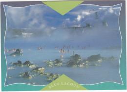 Svartsengi - Suòurnes Regional Heating Geothermal Plant : The Blue Lagoon Bathing Area - (Iceland) - IJsland