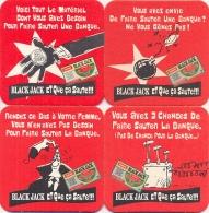#D109-099 Vier Viltjes Black Jack - Sous-bocks