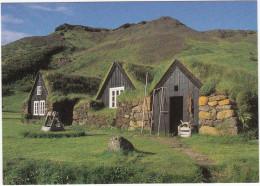 Byggòasafniò I Skógum - The Turf Houses Built In 1840-1895 - (Iceland) - IJsland
