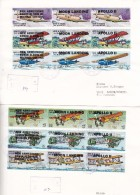 Umm Al Qiwain 1969,Apollo II+Moon Landing+Neil Armstronc,se Tenant Compl.set 27 Stamps 0n 3 Off.FDC- Extr RARE-SKRILL ON - Umm Al-Qiwain