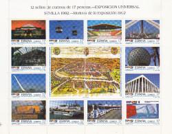 Bloc Séville 1992 N° 2771 à 2782 - 1991-00 Ungebraucht