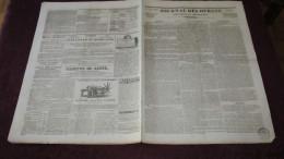 PUBLICITES DE 1833 - LA LANTERNE MAGIQUE / PRESSES LITHOGRAPHIQUES - ( JOURNAL DES DEBATS ) - Journaux - Quotidiens