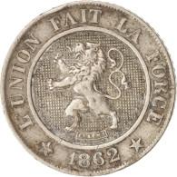 Belgique, Leopold I, 10 Centimes, 1862, TTB, Copper-nickel, KM:22 - 1831-1865: Léopold I