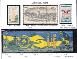 ROUMANIE 1997 J.T. TOURISME SCOUTS 4395 4407/8 4414 A 4418 MNH - 1948-.... Républiques