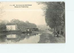 Environs De Sancerre : ECLUSE DE THOUVENAY (Péniche). 2 Scans. Edition ? - Frankreich