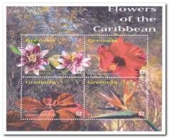 Grenada 2003, Postfris MNH, Flowers - Grenada (1974-...)