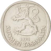 Finlande, Markka, 1974, TTB, Copper-nickel, KM:49a - Finlande