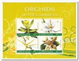 Grenada 2010, Postfris MNH, Flowers, Orchids - Grenada (1974-...)