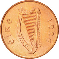 IRELAND REPUBLIC, 2 Pence, 1996, SUP+, Copper Plated Steel, KM:21a - Irlande