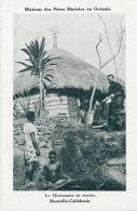 OCEANIE - NOUVELLE CALEDONIE - Le Missionnaire (Missions Des Pères Maristes) En Tournée - Nuova Caledonia
