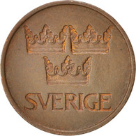 Suède, Gustaf VI, 5 Öre, 1972, TTB+, Bronze, KM:845 - Suède