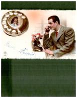 CP TELEPHONE , TELECOMMUNICATION  , J.C. PARIS - Post & Briefboten