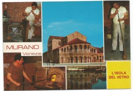 R2016 Venezia - Burano - L'Isola Del Vetro - Panorama Vedute Multipla / Non Viaggiata - Venezia