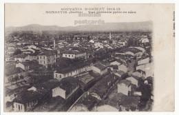Yugoslavia Serbia Macedonia MONASTIR Bitola General Aerial Town View - Macedoine - C1918 Vintage Old Postcard [8969] - Macedonia