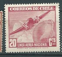 Chili Poste Aérienne  - Yvert N°54 * - Abc8642 - Chile
