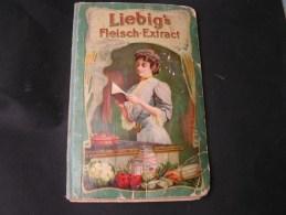 Kochbuch  Liebig Fleisch Extrakt , Kl. Mängel  Ca. 1900 - Alte Bücher