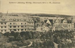 DE SCHOMBERG / Sanatorium / - Schömberg