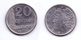Brazil 20 Centavos 1977 - Brésil