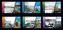 New Zealand 1998 Urban Transformations Set Of 6 MNH - New Zealand