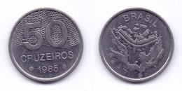 Brazil 50 Cruzeiros 1985 (reduced Weight) - Brazil