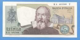Lire 2000 Lire Tipo  Galileo  Decr. 24-10- 1983  FDS - [ 2] 1946-… : Repubblica
