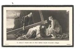 7.  KAREL  THYS  Echtg.  L. CEUSTERS  -  °TESSENDERLOO 1878  /  +LEUVEN 1935 - Images Religieuses