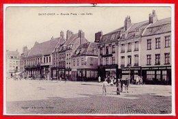 62 - SAINT OMER -- Grande Place - Les Cafés - Saint Omer