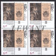 2016.06.22. 450th Anniversary Of The Birth Of John Jessenius (1566-1621) - MNH Block - Nuovi