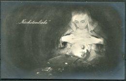 WW1 Germany Nurse & Solider Patriotic 'Nachstenliebe' Postcard - Patriotic