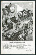 WW1 Germany France Metz Battle Ludwig Thoma Wohlfahrts Postcard - Weltkrieg 1914-18