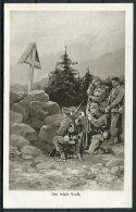 WW1 Germany 'Der Letzte Gruss' Patriotic B.L.W.I. Postcard - War 1914-18